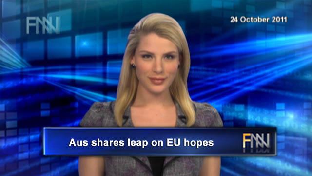 Market Wrap: Aus shares leap on EU hopes