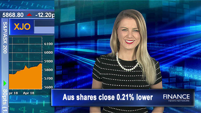 Higher over week, lower on Friday: Aus shares close 0.2% lower