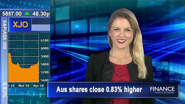 Mining stocks shine on Tuesday: Aus shares close 0.83% higher