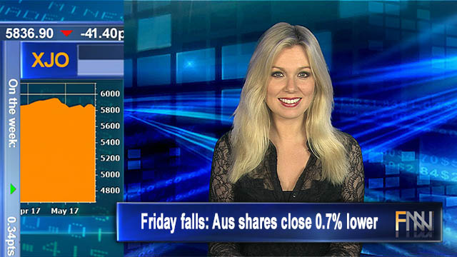 Friday falls: Aus shares close 0.7% lower