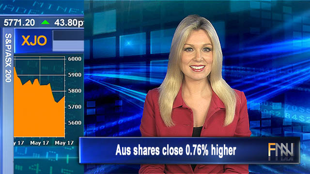Energy excels: Aus shares close 0.76% higher