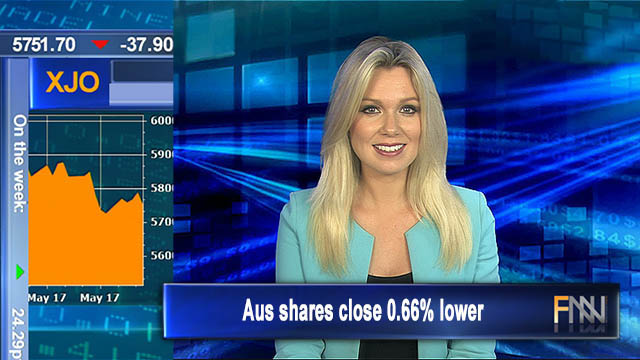 Friday falls: Aus shares close 0.66% lower