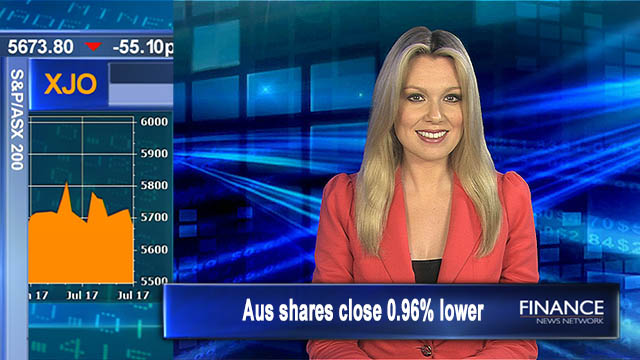 In the doldrums: Aus shares close 0.96% lower