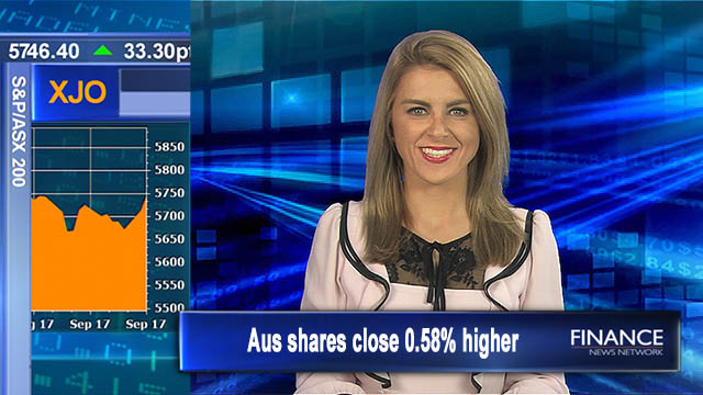 QBE leads financials up: Aus shares close 0.6% higher