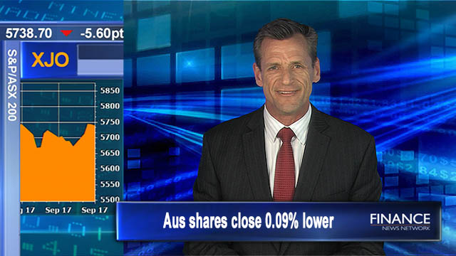 Another flat day of trade: Aus shares close 0.09% lower
