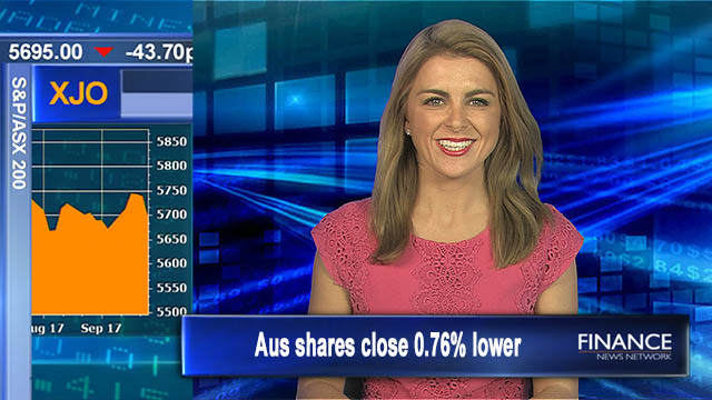 Higher for week: ASX200 0.76% lower on Friday