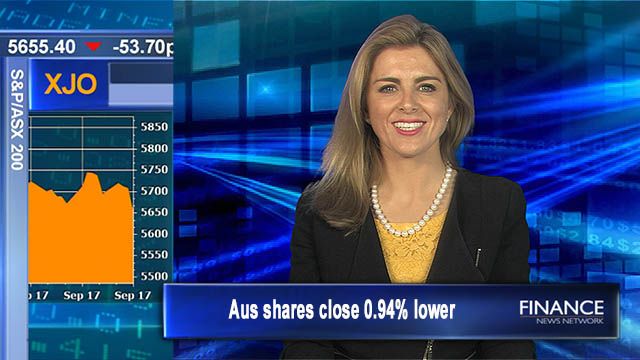 Slippery Thursday: Aus shares close 0.94% lower