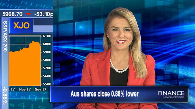 Profit taking tolls: Aus shares closed 0.88% lower