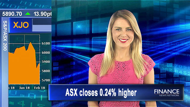 Making slow recovery: Aus shares close 0.24% higher