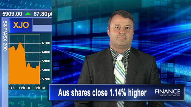 Terrific Thursday: Aus shares close 1.14% higher