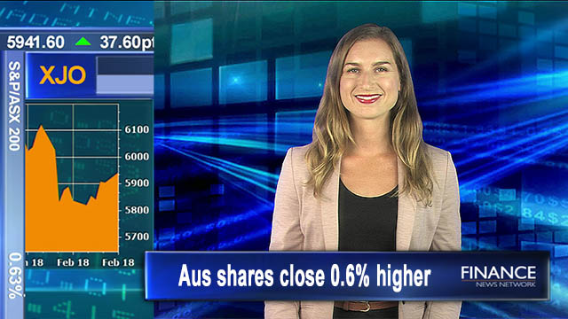 Stronger-than-expected results boost markets: Aus shares close 0.6% higher