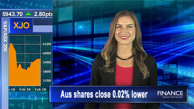 Flat finish on ASX: Aus shares close 0.02% lower