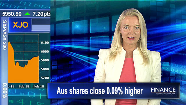 Nine rises and QANTAS soars: Aus shares close 0.09% higher