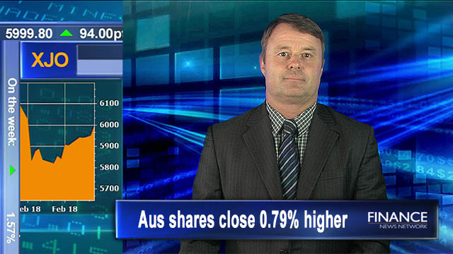 Back in the 6k club: Aus shares close 0.8% higher on Friday, 1.6% on week
