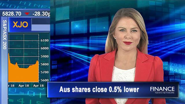 Back track Wednesday: Aus shares close 0.5% lower