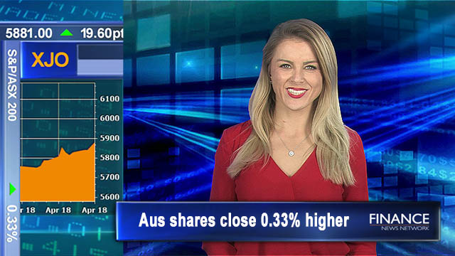 Fifth day of gains on commodity rush: Aus shares close 0.3 per cent higher
