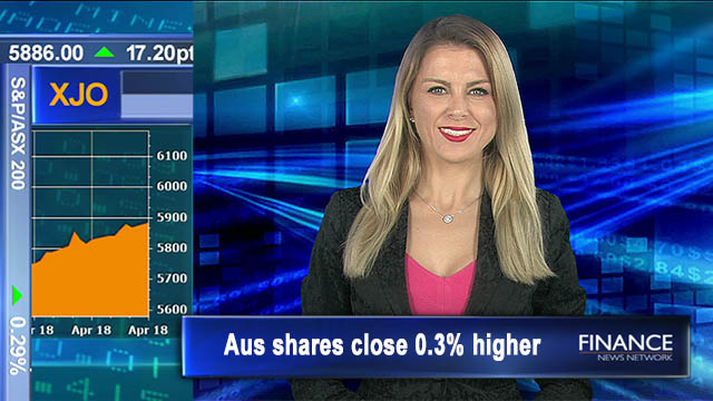 Puffing along on mining steam: Aus shares close 0.3% higher