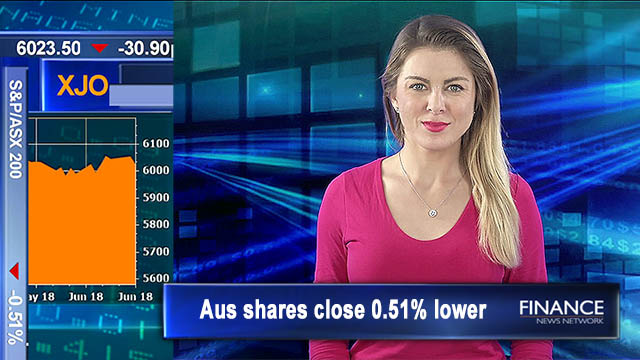 Peace deal inked: Aus shares close 0.51% lower