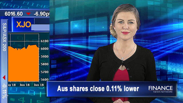 Eco data disappoints AUD slips: Aus shares close 0.11% lower