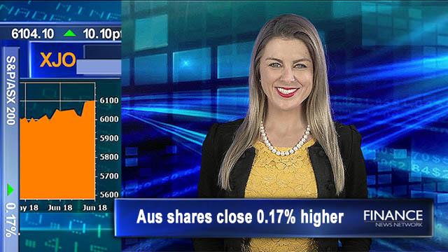 Back at 10-yr highs: Aus shares close 0.2% higher