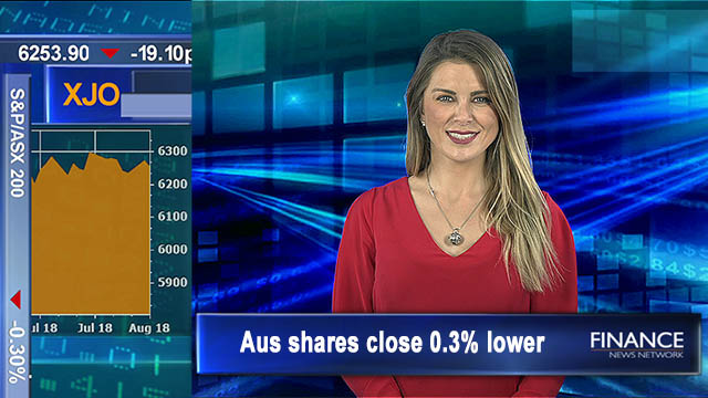 Rates held for 2 years: Aus shares close 0.3% lower