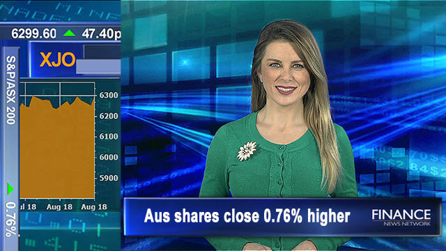 Whitehaven, Afterpay cash in: Aus shares close 0.76% higher