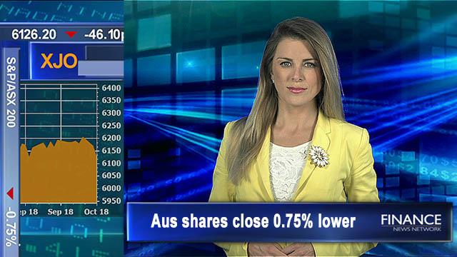 Qantas sold down, AMP 15-yr low, rates held: ASX closes 0.8% lower