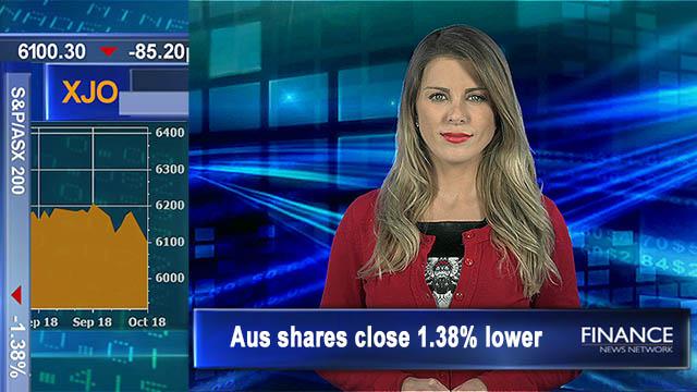 Biggest drop since March: Aus shares close 1.4% lower