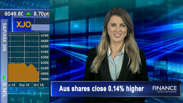 Back in the black: Aus shares close 0.14% higher