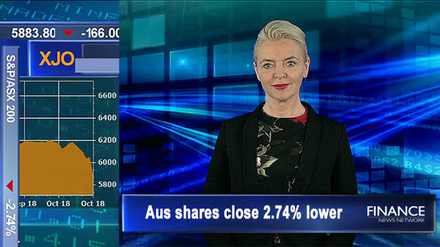 Global sell-off sees shares slump: ASX to close 2.7% lower