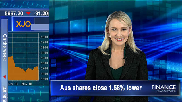 Coca Cola to sell SPC: Aus shares close 1.6% lower