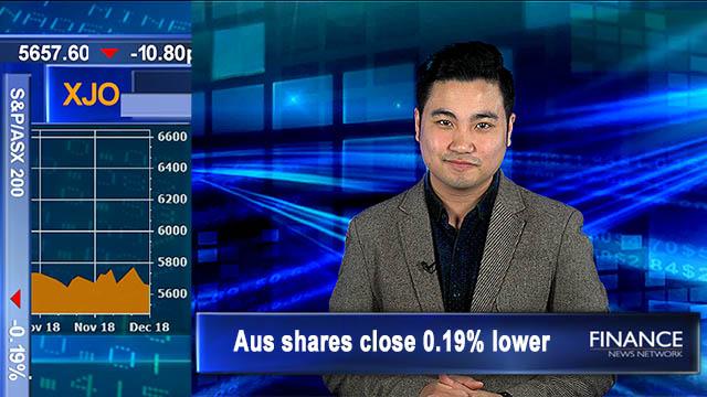 Flat finish: Aus shares close 0.2% lower