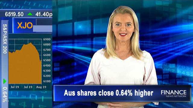 AUD drops to a ten year low against USD: ASX closed 0.6% higher
