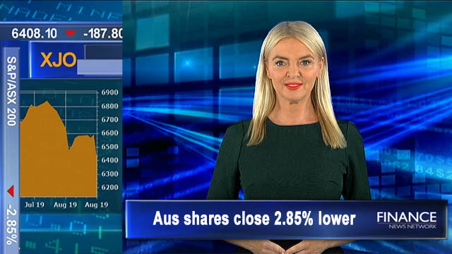 ASX plunges following on from Wall St: ASX closed 2.9% lower