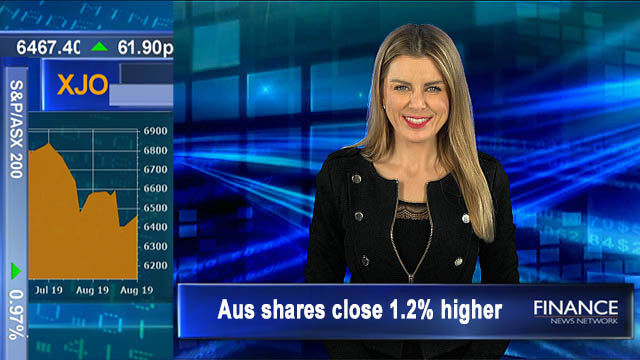 All sectors rise on reporting season: Aus shares up 1.2%, biggest gain in two-months