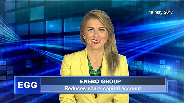 Enero reduces share capital account & declares special dividend