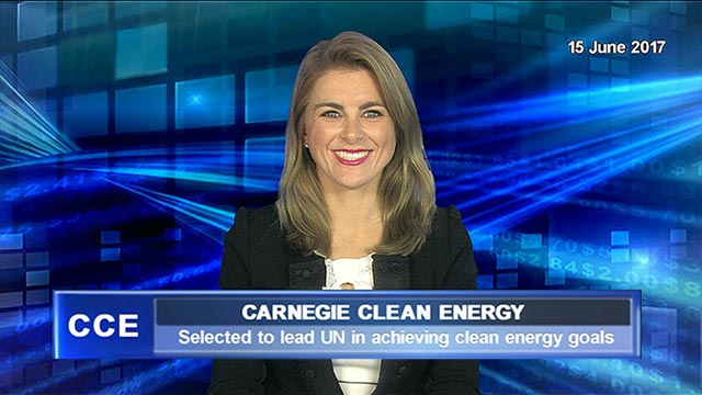 Carnegie Clean Energy to lead UN in achieving clean energy