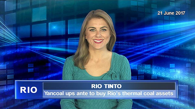 Yancoal ups ante to buy Rio' Tinto's thermal coal assets