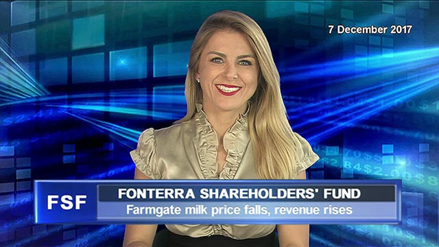 Fonterra's Farmgate Milk Price falls, revenue rises