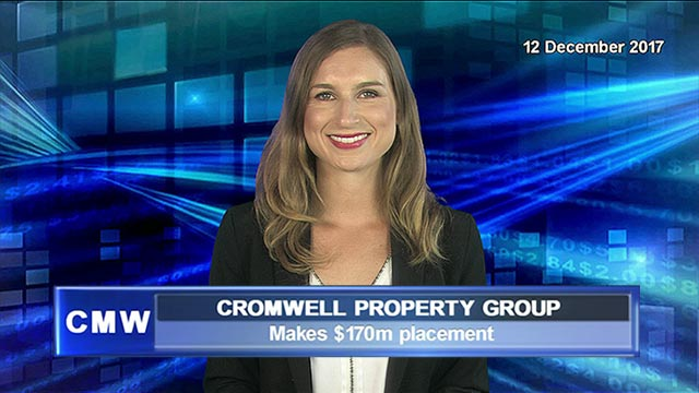 Cromwell Property Group makes $170m placement