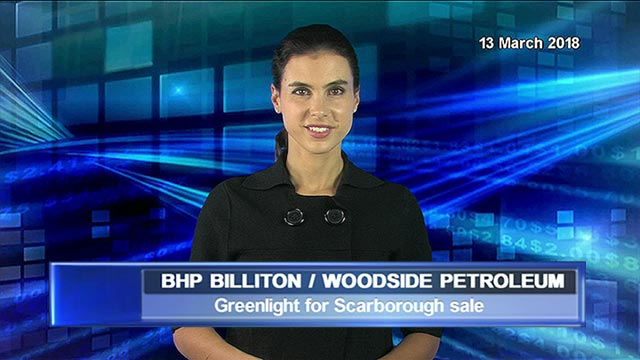 BHP supports Woodside taking control of Scarborough