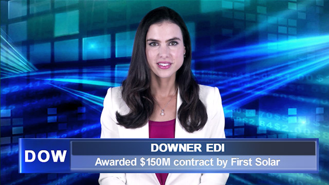 Downer awarded $150M contract by First Solar