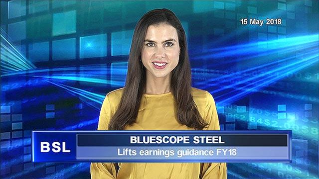 Bluescope Steel lifts earnings guidance FY18