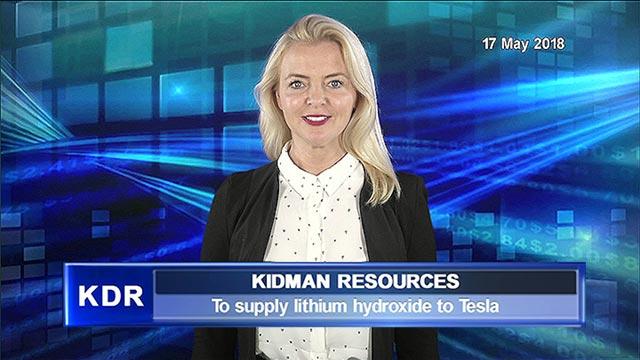 Kidman to supply lithium hydroxide to Tesla