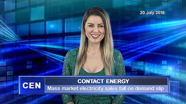 Contact Energy mass market electricity sales fall on demand slip