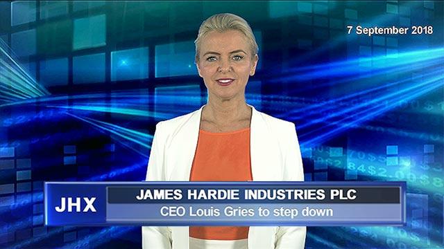 James Hardie CEO steps down