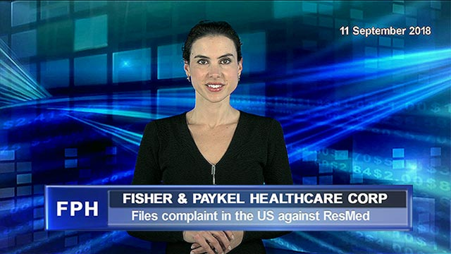 Fisher & Paykel Healthcare files patent infringement complaint in the US against ResMed