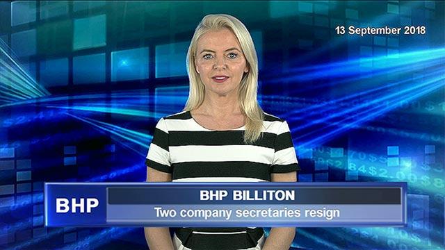 BHP sees two company secretaries resign