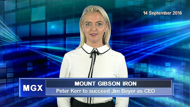 Mount Gibson Iron has appointed a new CEO