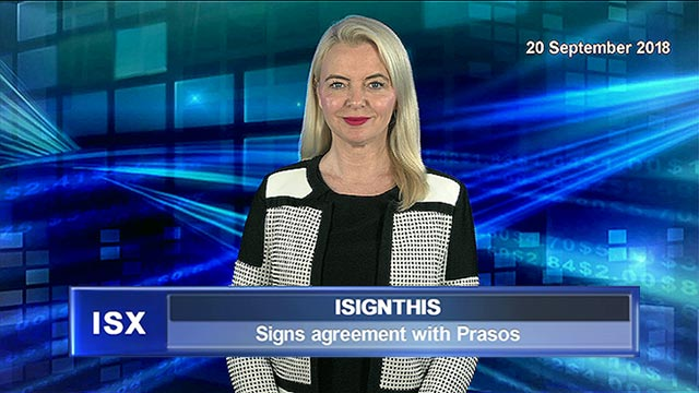 iSignthis has signed and agreement with Prasos